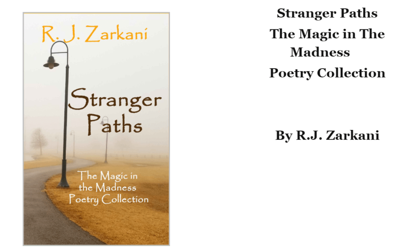 Stranger Paths. The magic in the madness poetry collection. Inreview.