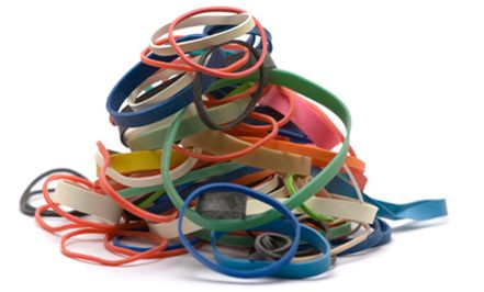 The Rubber Band Man.